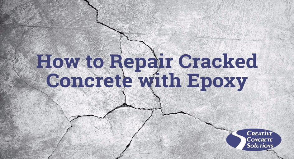 How to Repair Cracked Concrete with Epoxy